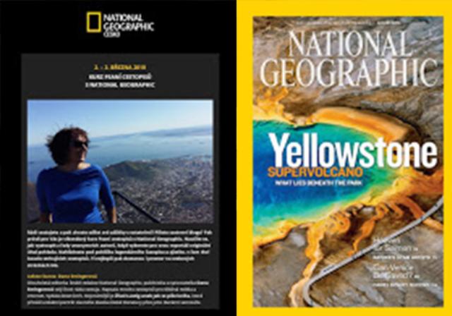 Kurzy tvůrčího psaní National geographics